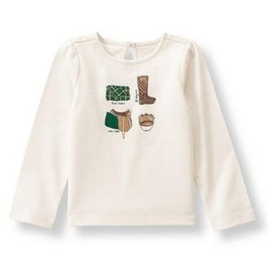 🎀 Janie and Jack Countryside Ride Riding Tee 🎀
